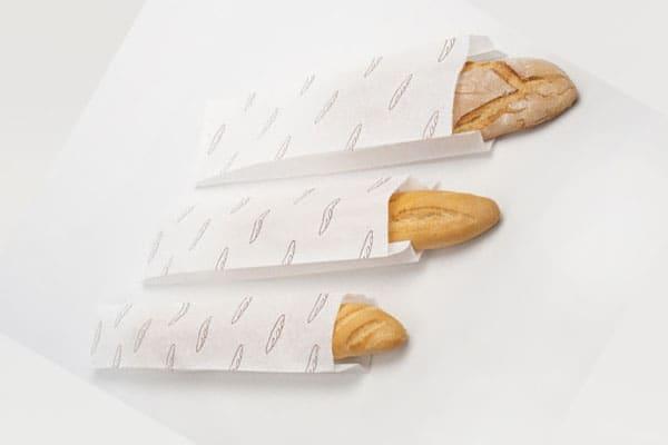 bao giấy bánh mì que